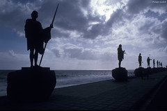 Candelaria : estatuas de Los Menceyes (philippeguillot21) Tags: statue sculpture roi guanche candelaria tenerife canaries espagne pixelistes nikon