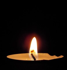 (mel_straw) Tags: macro flame candle