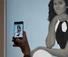 Michelle Obama portrait (vpickering) Tags: michelleobama artmuseums nationalportraitgallery portraits amysherald portraitgallery sherald smithsonian art artmuseum galleries gallery museum museums portrait