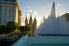 Salt Lake Temple Fountain, Salt Lake City (Andrey Sulitskiy) Tags: usa utah saltlakecity