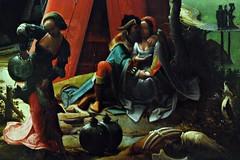 6 - Musée du Louvre - Loth et ses filles (Anonyme), Huile sur bois, Vers 1517 - Détail (melina1965) Tags: nikon d80 îledefrance paris février february 2018 1erarrondissement 75001 macro macros peinture painting louvre musédulouvre