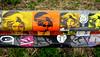 stickers (wojofoto) Tags: amsterdam amsterdamsebrug flevopark streetart wojofoto wolfgangjosten stickers stickerart sticker