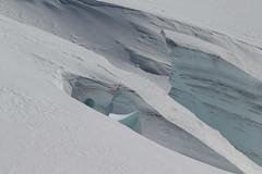 Gletscherspalte im Jungfraufirn als oberer Teil des grossen Aletschgletscher ( Gletscher glacier ghiacciaio 氷河 gletsjer ) in den Walliser Alpen - Alps unterhalb dem Jungfraujoch im Kanton Wallis - Valais der Schweiz (chrchr_75) Tags: hurni christoph chrchr75 chriguhurni februar 2018 schweiz suisse switzerland svizzera suissa swiss albumzzz201802februar gletscher glacier ghiacciaio 氷河 gletsjer kantonwallis kantonvalais wallis valais albumgletscherimkantonwallis alpen alps