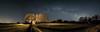 Capela Láctea (pepe.anacadabra) Tags: iso6400 oly febrero largaexposición longexposure panoramic landscape paisaje panorámica milkyway víaláctea stars estrellas noche capeladebascuas guitiriz lugo