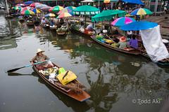 floating market (Todd Aki) Tags: thailand floatingmarket
