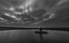 No Man Is An Island (Rob Pitt) Tags: wirral dee marshes neston sky clouds marsh cheshire outdoor landscape field plant grass cloud ripples silhouette uk england great british water lake longexposure tokina 1116 blackwhite 750d