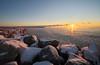 Icy Sunrise (Gavin Edmondstone) Tags: sunrise lakeontario bronteharbour oakville ontario laowa75mm ultrawideangle ice