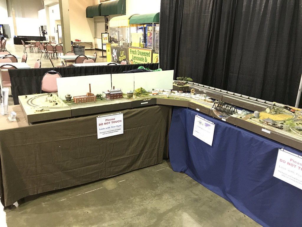 2018 Wgh Charlotte Show Report Nrmrc Troubleshooting Wiring Problems With The Loconet T Trak Layout Worlds Greatest Hobby