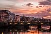 Dublin (KarinWeinzierl) Tags: bridges dublin hdr liffey morning sunrise