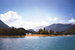 (André Terras Alexandre) Tags: film analog 35mm landscape italy abruzzo lazio molise national park lake camp camping summer