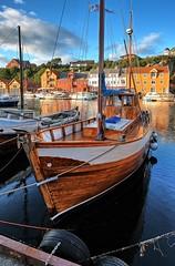 """Lene"", Haugesund - Norway (Vest der ute) Tags: xt2 norway rogaland haugesund sea seaside dock houses boat boats sky clouds outdoor summer fav25 fav200"