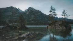 On our way to - 13/365 (der_peste) Tags: hintersee eibsee berchtesgadenerland berchtesgaden ramsau ramsauerache bayern deutschland germany bavaria moutain lake reflections winter sky landscape