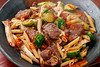 penne-with-beef-and-brussels-sprouts_170118 (kazua0213) Tags: sd quattro sigma cuisine pasta