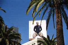San Francisco 1999 (Eric Böhm) Tags: palm palmtree california usa sanfrancisco nike 1999 film nikon f90 billboard