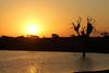 Sunset, Sunset Dam - South Africa (Nick Dean1) Tags: lowersabie southafrica sunsetdam krugernationalpark ngc safari sunset landscape dam lake nest weaverbirdnest