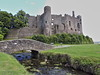 Laugharne Castle (mclean25) Tags: laugharne castle ruins bridge stream taff estuary dylan thomas poet wales history heritage building architecture ancient