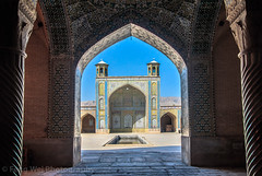 Vakil Mosque, Shiraz, Fars Province, Iran (Feng Wei Photography) Tags: islamicculture persianculture middleeast islam persian landmark shiite colorimage traveldestinations placeofworship tourism islamic spirituality indoors famousplace builtstructure iran iranianculture travel shiraz iwan shiiteislam architecture vakilmosque mosque horizontal holy farsprovince irn