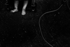 IMG_2565 (alygraphs) Tags: baby blue boy bright colorful dark detail dirty documentary feet fun hose kid lifestyle lowlight moody negativespace outside playing toddler toes