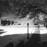 University Plaza in 1958.