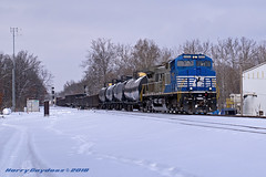 Norfolk Southern GE AC44C6M 4000 (Harry Gaydosz) Tags: trains railroads locomotives pa pennsylvania wampum ns norfolksouthern ns4000 ns15m