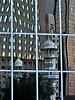 Reflections of Kuala Lumpur (SM Tham) Tags: asia southeastasia malaysia kualalumpur klcolonialwalk building glass wallcladding reflections distortion masjidjamek jamekmosque architecture abhubback minaret tower facades windows grid tree oniondomes mirror
