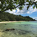 Thailand Koh Phangan Haad Son Secret Beach Bucht Strand Schnorcheln