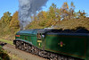 A4 in the Autumn Burrs (Nigel Valentine) Tags: 60009 a4 union south africa east lancashire raiwlay autumn gresley