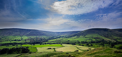 Lord's Seat, Whitemoor Clough, and Horsehill Tor from Broadlee Bank, Edale, Peak District, UK (SheffieldRambler) Tags: peakdistrict edale