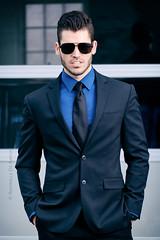 (RaffaLUCE) Tags: review model atlanta malemodel suitandtie classicman sunglasses atlantaphotographer xt2 fujixt2 onlocation