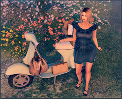 Scooting Over To The Shops (Love Trill) Tags: truth mh friday avangardista