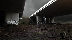 accepting (Mattijn) Tags: viaduct mattepainting forest moor pensive lettinggo song musicvideo