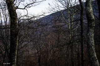 Winter in Blue Ridge Mountains