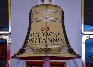 The bell on HM Yacht Britannia