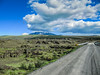 Gravel roads and wooden bridges (RIch-ART In PIXELS) Tags: hella iceland dirtroad gravelroad road lava field lavafield sky clouds grass moss canon landscape