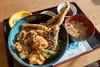 ニューこのり 旬天丼 (GenJapan1986) Tags: 2018 天丼 女川海の膳ニューこのり 女川町 宮城県 日本 miyagi japan fujifilmx70 food
