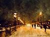 Neige à Paris (JEAN PAUL TALIMI) Tags: jeanpaultalimi paris hiver neige pontalexandre3 gens silouettes iledefrance france froid fantomes marche