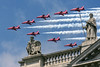 Red Arrows over St Pauls, London, UK (rmk2112rmk) Tags: redarrows stpauls hawk raf royalairforce london