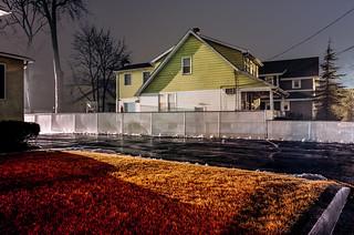 Rainy Night, Lafaette Avenue, Hawthorne NJ
