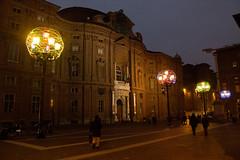 Teatro Carignano, Torino - Italy (Marconerix) Tags: torino italia italy turin downtown centro street urban night bynight lucidartista lights christmas
