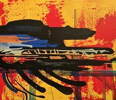 Jim Harris: Et exspecto resurrectionem mortuorum. (Jim Harris: Artist.) Tags: art abstract artista arte painting space cosmos kunst konst zeitgenössische paint peinture lartabstrait
