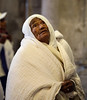 A Psalm of David. LORD, who shall sojourn in Thy tabernacle? (ybiberman) Tags: israel jerusalem oldcity alquds christianquarter churchoftheholysepulchre pilgrim old woman ethiopian praying veil weddingring portrait candid streetphotography people
