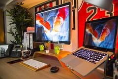 Office Feb 2018 (Bridge Computers) Tags: office macoffice workspace lifehacker apple macbookpro appleoffice command