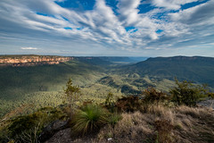 Sublime Point, Leura, Blue Mountains. (Buddy Patrick) Tags: lookout view mountain mountains scenic landscape nature valley leura bluemountains newsouthwales australia