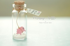 I love hanging out of you,Tiny message in a bottle,Miniatures,Personalised Gift,love card Valentine Card,Gift for her/him,Girlfriend gift, birthday card, message card and miniatures card ideas (charles fukuyama) Tags: handmadecard holidaycard pig piggy piglet 豚 porc maiale cerdo schwein unique partygift paper art homedecor deskdecor decoration cuteanimals greetingscard tiny bottle kikuike