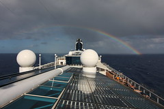 Rainbows from the Celebrity Equinox - February 2018