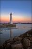 Milliken State Park Lighthouse at sunset (Amarnath) Tags: 70d splittoning rp aur hdr 3hdr saturationmask luminositymask 1022mm efs1022mmf3545usm lighthouse