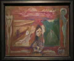 Edvard Munch; Paintings in Oslo (Martin Beek) Tags: edvardmunch artist expressionism oslo