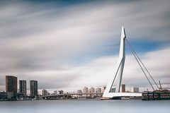 Light flooded (frank_w_aus_l) Tags: rotterdam erasmus brücke bridge architecture longexposure pce nikon d800 netherlands fineart city cityscape skyscraper zuidholland niederlande nl erasmusbrug