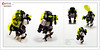 Raptor series: Blacktron 2 (Brixnspace) Tags: raptor walker frame powersuit suit lego moc toy biped space bot classic blacktron