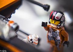 IMG_2196 (Karen May Martin) Tags: star wars poe dameron bb8 droid x wing pilot last jedi force awakens lego disney toy photography